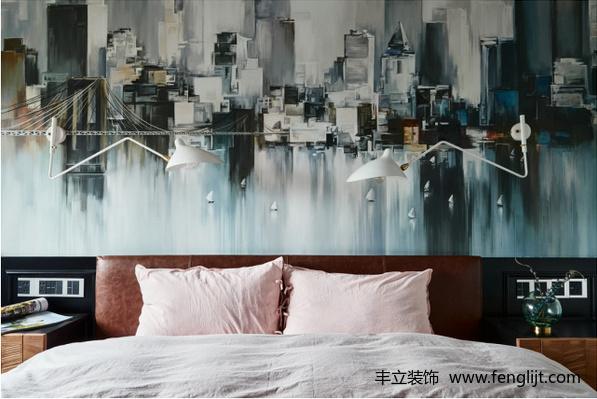 混搭卧室效果图