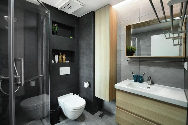 香山半岛北欧风格卫生间装修效果图