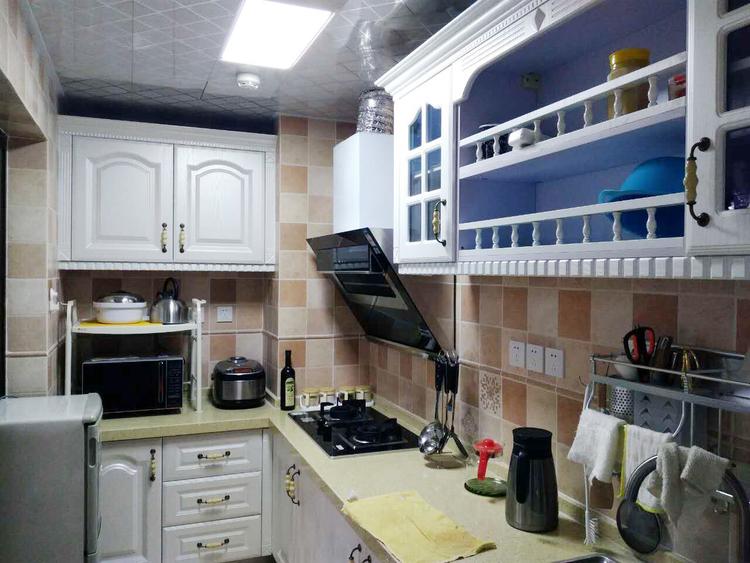 巴黎都市简欧风格效果图之厨房