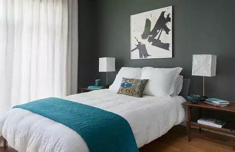 中央花园北欧风格效果图之卧室