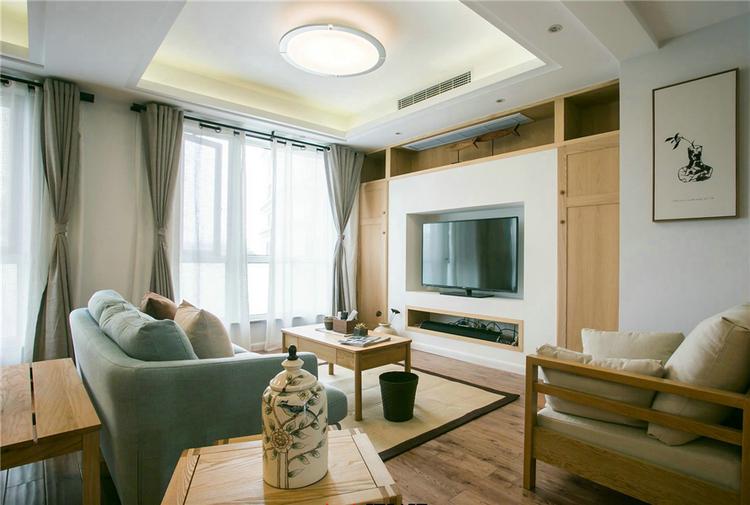 龙湖天璞现代风格效果图之客厅