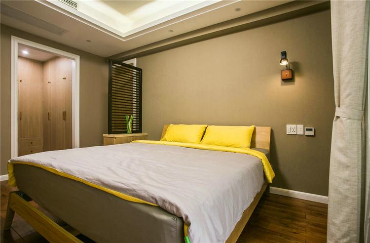 绿地468公馆现代简约风格效果图之卧室