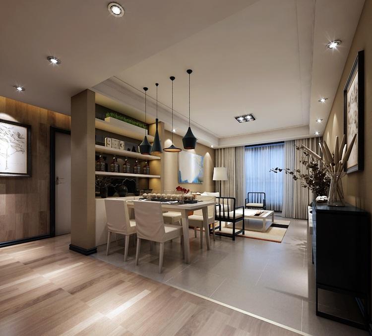 现代简约风格怎么搭配之餐厅