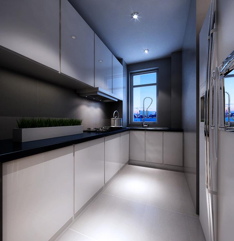 现代简约风格怎么搭配之厨房