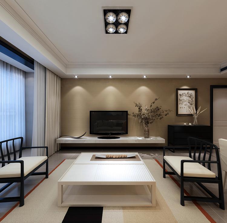 现代简约风格怎么搭配之客厅