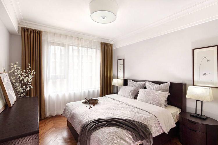卧室乳胶漆白色效果图