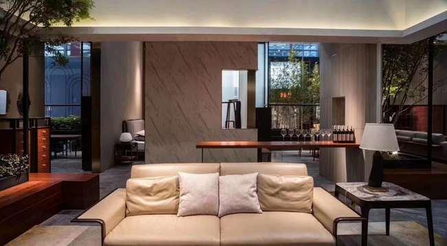 新中式装修特点介绍之客厅