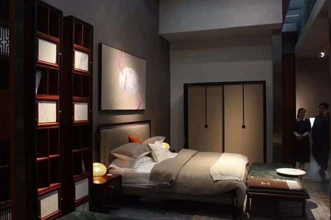 新中式装修特点介绍之卧室