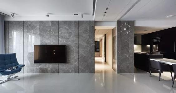 石材电视背景墙设计四